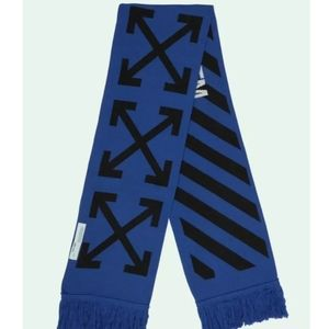 NWT: Blue & White Off-White Scarf